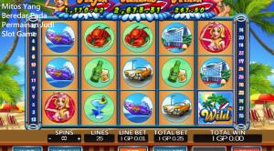 Mitos Yang Beredar Pada Permainan Judi Slot Game